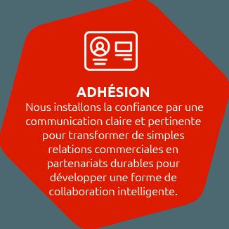 adhésion